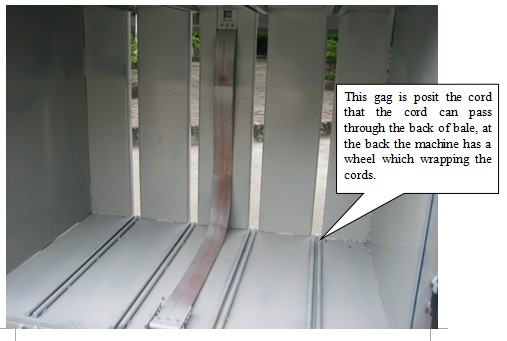 How to tie the balers cords?
